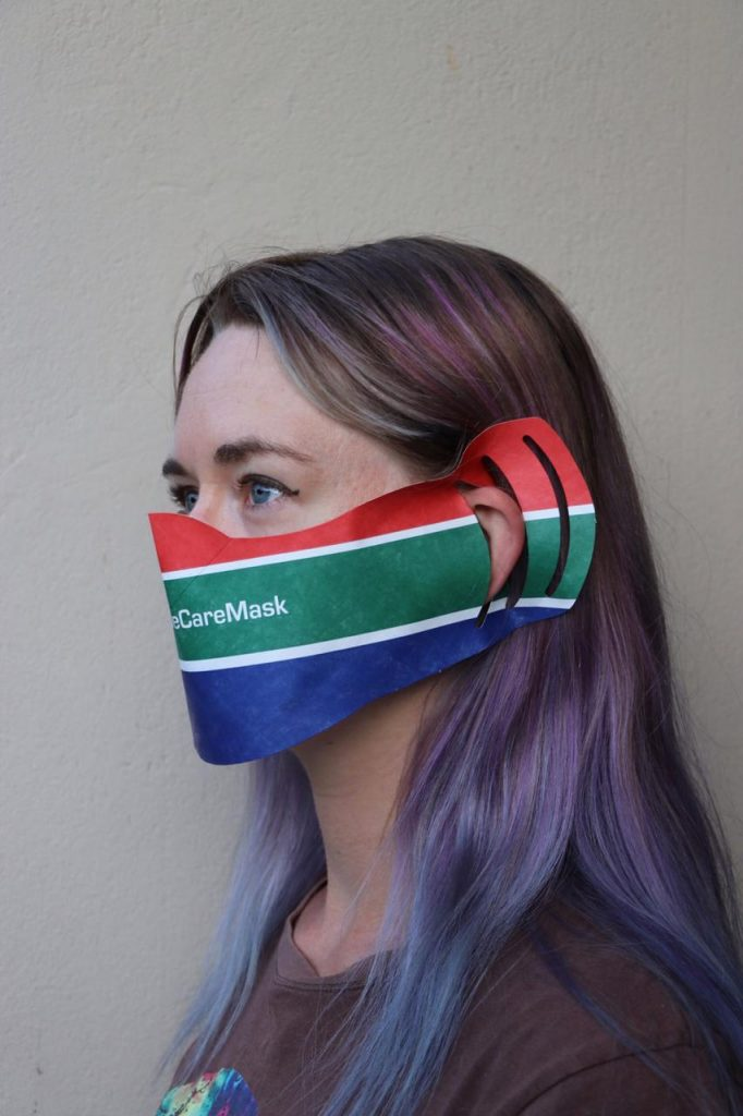 polyglass plastics face mask cape town south africa